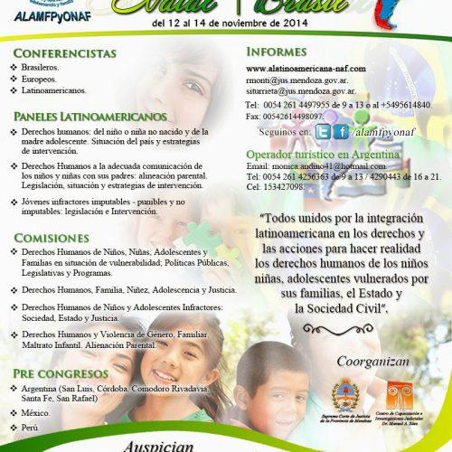 VI Congreso de Niñez Adolescencia y Familia – Natal. Brasil