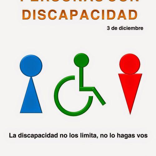 3 de Diciembre- Día Internacional de las Personas con Discapacidad
