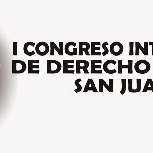 I CONGRESO INTERNACIONAL DE DERECHO AMBIENTAL