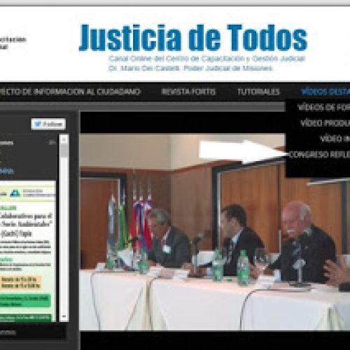 """Videos del """"XIX Congreso Nacional de Capacitación Judicial"""""""