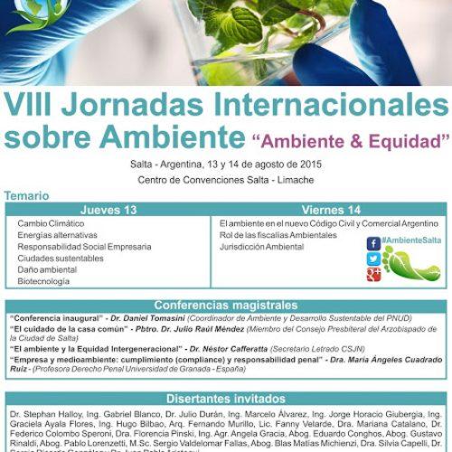 VIII Jornadas Internacionales sobre Ambiente