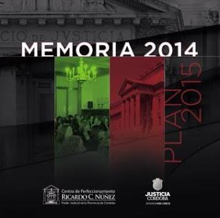 Memoria 2014 - Plan 2015