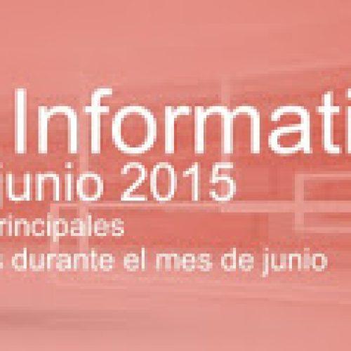 Boletín Actividades Junio 2015 (Misiones)