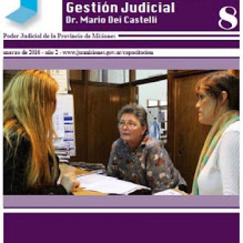 Disponible Boletín de Actividades del Centro de Capacitación y Gestión Judicial de Misiones, febrero 2016