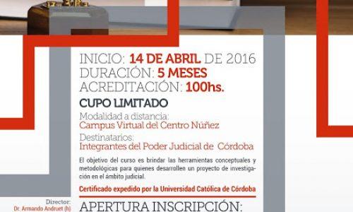 Memoria de Capacitaciones Virtuales Marzo/Abril del Centro Núñez