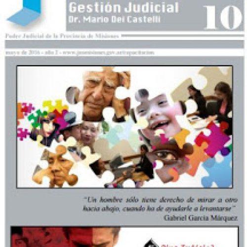 Boletín Informativo y de Divulgación, Centro de Capacitación y Gestión Judicial de Misiones