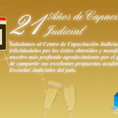 Felicitaciones desde Misiones al Centro de Capacitación Judicial de La Pampa