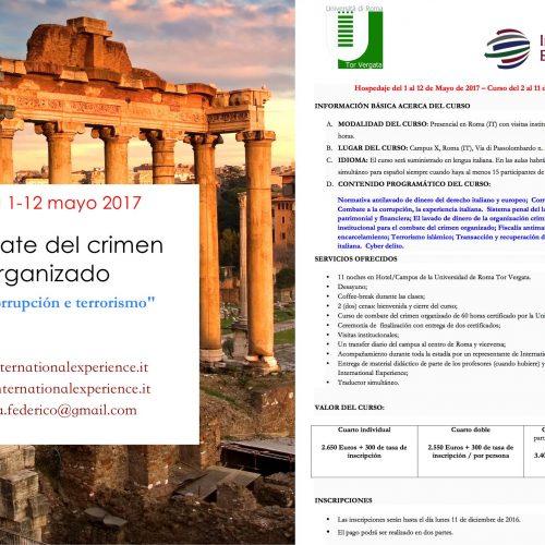 Convenio EMS y Universidad Tor Vergata – Roma