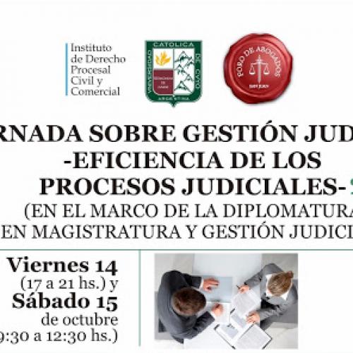 Eficiencia en los procesos judiciales