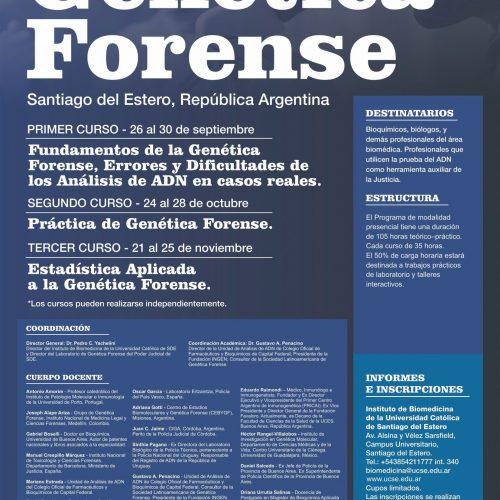 """""""Programa Internacional de Postgrado en Genética Forense"""""""