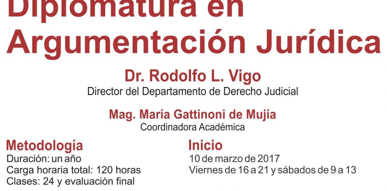 Inscriben para postgrado en Argumentación Jurídica en Salta