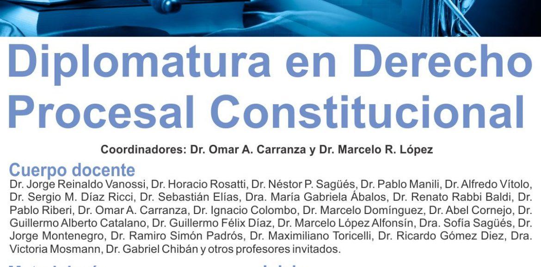 Nueva Diplomatura en Derecho Procesal Constitucional en Salta