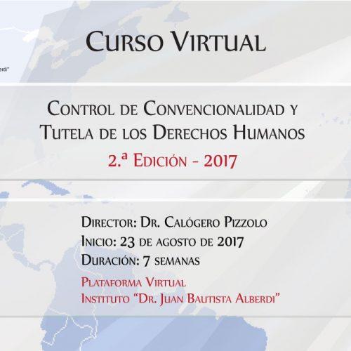 """Entre Ríos: Instituto """"Dr. Juan B. Alberdi"""" – Curso Virtual Control de Convencionalidad y Tutela de los Derechos Humanos. 2ª Edición – 2017"""