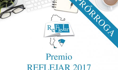 PRÓRROGA: Concurso Premio Reflejar 2017