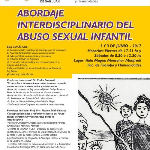 San Juan: Abordaje interdisciplinario del abuso sexual infantil