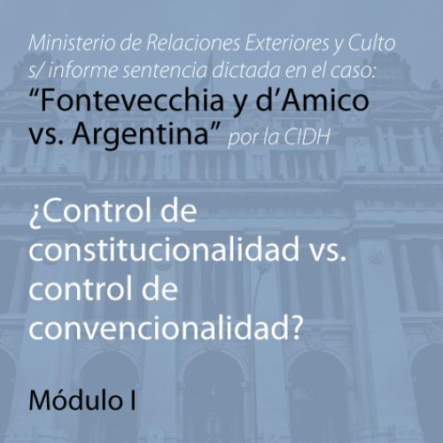 """CABA: videoconferencia: El caso Ministerio de Relaciones Exteriores y Culto s/ informe sentencia dictada en el caso: """"Fontevecchia y d'Amico vs. Argentina"""""""
