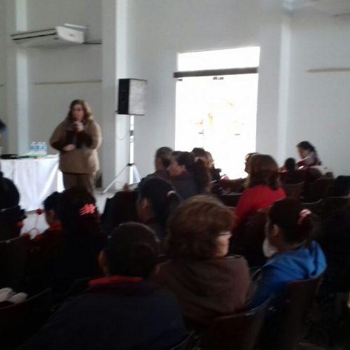 San Juan: Programa Justicia Rural: Actividad de capacitación en Sarmiento