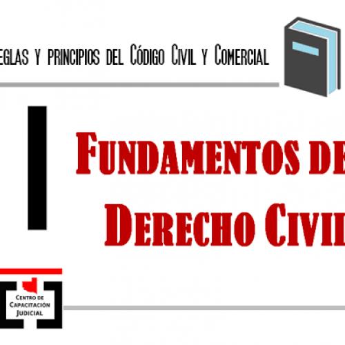 La Pampa: Ofrecimiento de curso: Fundamentos de Derecho Civil