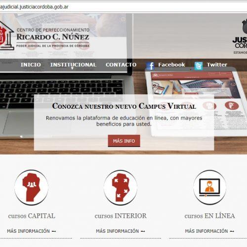 CORDOBA: Nuevo espacio web del Centro Núñez de Córdoba