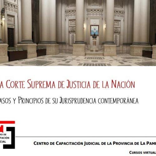 Curso Online: Jurisprudencia contemporánea de la Corte Suprema de Justicia de la Nación