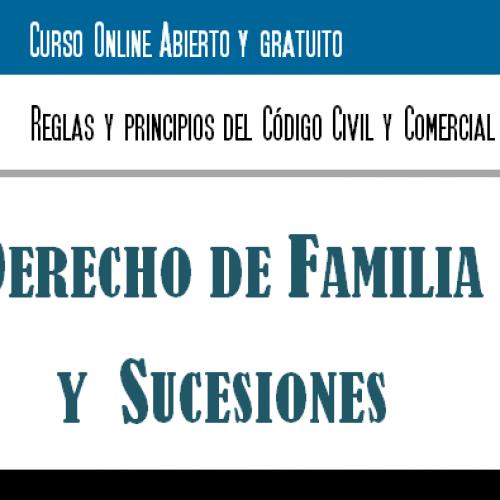 Curso OnLine Reglas y Principios del Código Civil y Comercial: Derecho de Familia y Sucesiones