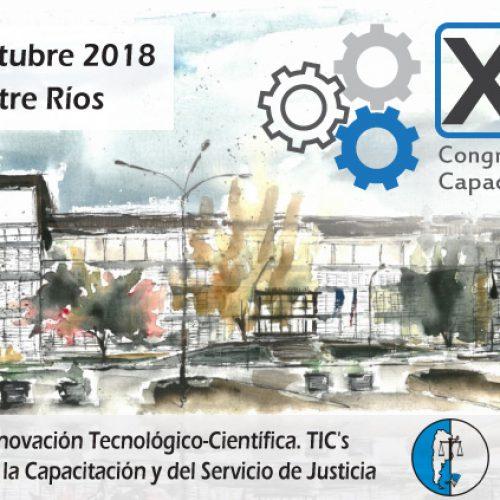 XXII Congreso Nacional de Capacitación Judicial – 2018