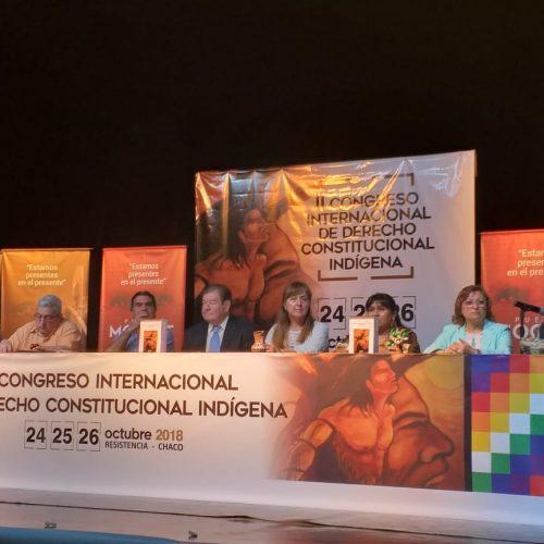 Concluyó el II Congreso Internacional de Derecho Constitucional Indígena