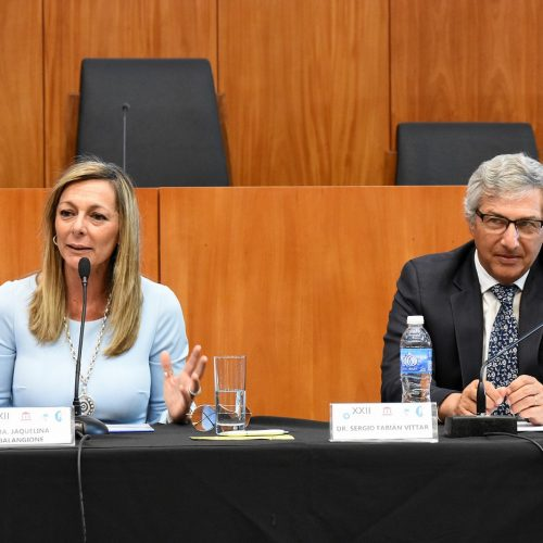 XXII Congreso Nacional – Presentación del Instituto de Capacitación de la Defensa Pública de la Provincia de Santa Fé