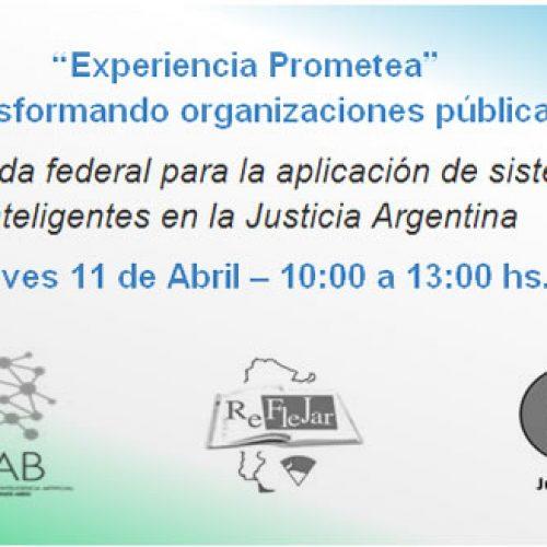"""""""EXPERIENCIA PROMETEA"""" TRANSFORMANDO ORGANIZACIONES PÚBLICAS"""