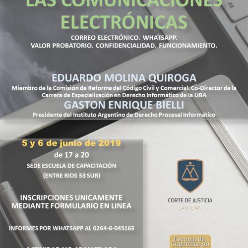 San Juan – Disertación del Dr. Eduardo Molina Quiroga – Secretario Académico de REFLEJAR
