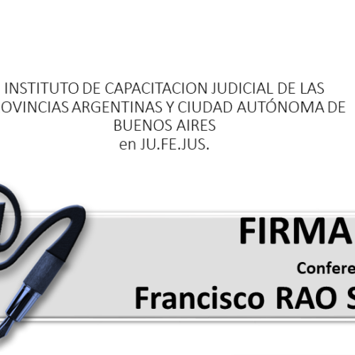 "Capacitación ""FIRMA DIGITAL"""