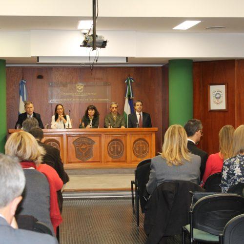 Se dicta en Río Negro una capacitación sobre gestión y administración judicial, liderazgo y trabajo en equipo