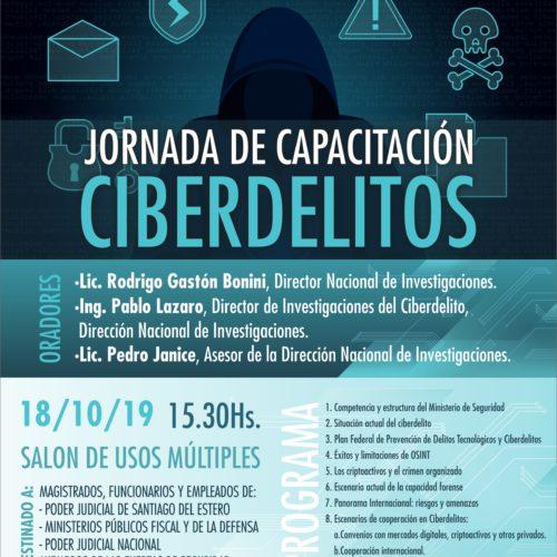 JORNADA DE CAPACITACIÓN: CIBERDELITOS
