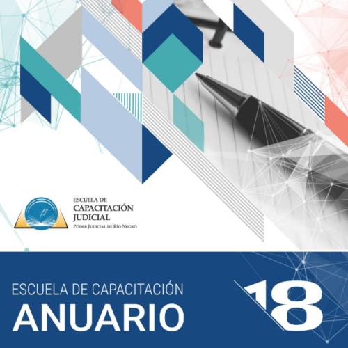 Anuario de Capacitación Judicial 2018 – Río Negro