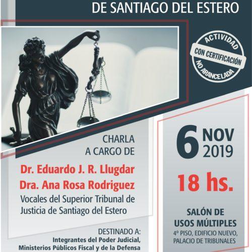 ANÁLISIS DE FALLOS DEL SUPERIOR TRIBUNAL DE JUSTICIA DE SANTIAGO DEL ESTERO