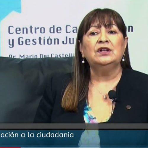 Micro de Información al la Ciudadanía Dra Gloria Pasten – Acoso Callejero