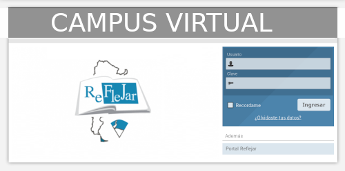 Acceso al Campus Virtual Reflejar
