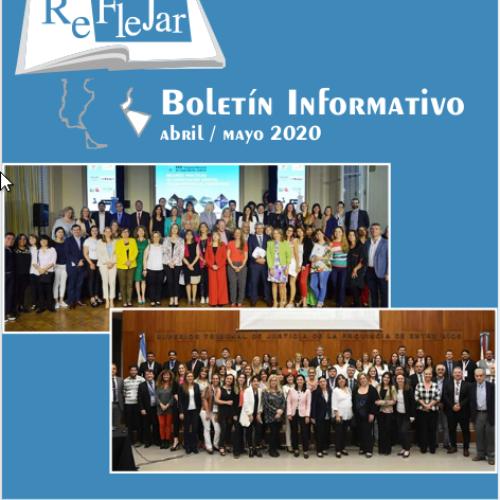Boletín Informativo REFLEJAR- Abril/Mayo 2020
