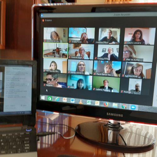 I Encuentro Virtual de Directores/as y Responsables de Escuelas Judiciales