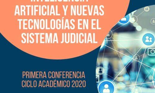 PRIMERA CONFERENCIA CICLO ACADÉMICO 2020 ESCUELA JUDICIAL CAM