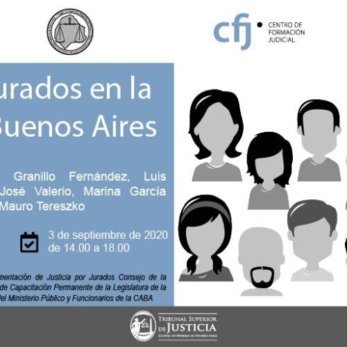 Jornada: Juicio por Jurados en la Ciudad de Buenos Aires