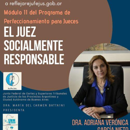 """Programa de Perfeccionamiento para Jueces: Módulo II """"El Juez Socialmente Responsable"""""""