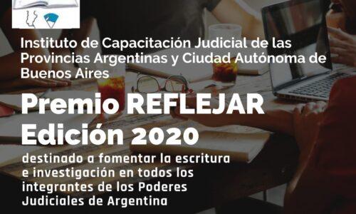 Invitación para participar del PREMIO REFLEJAR 2020