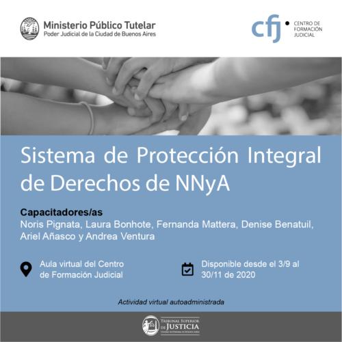 Sistema de Protección Integral de Derechos de NNyA – Centro de Formación Judicial