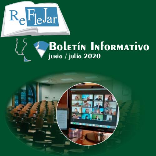Boletín Informativo REFLEJAR- Junio/Julio 2020