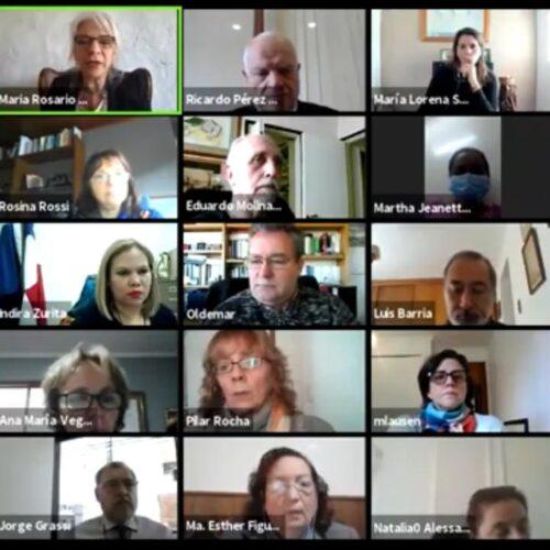 REFLEJAR presentó la primera actividad colaborativa para la RIAEJ, en conjunto con el Centro de Estudios Judiciales del Uruguay