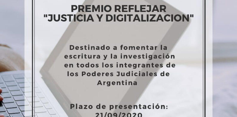 NOVEDADES: PREMIO REFLEJAR 2020