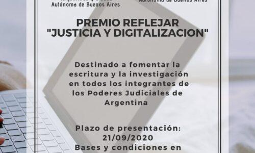 PREMIO REFLEJAR 2020- últimos días para participar