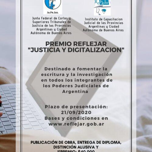 Premio Reflejar 2020- prórroga de presentación