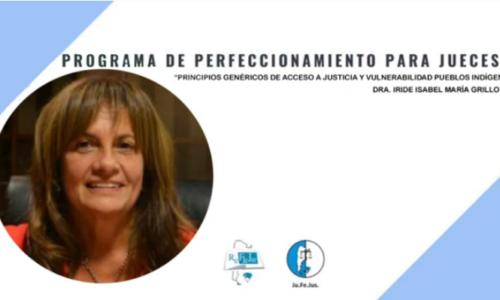 """Módulo III: """"Acceso a Justicia y Vulnerabilidad"""" – Dra. Isabel Grillo"""
